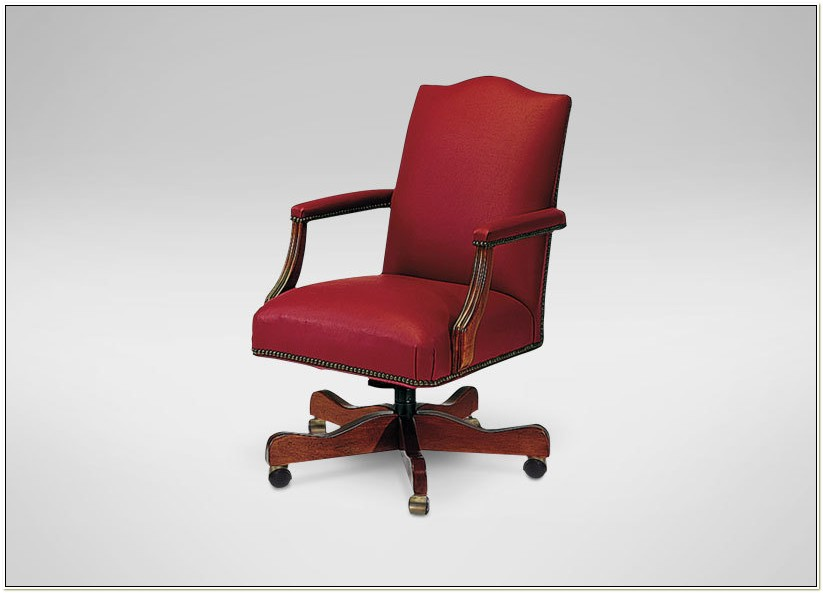 Ethan Allen Office Chair Leather