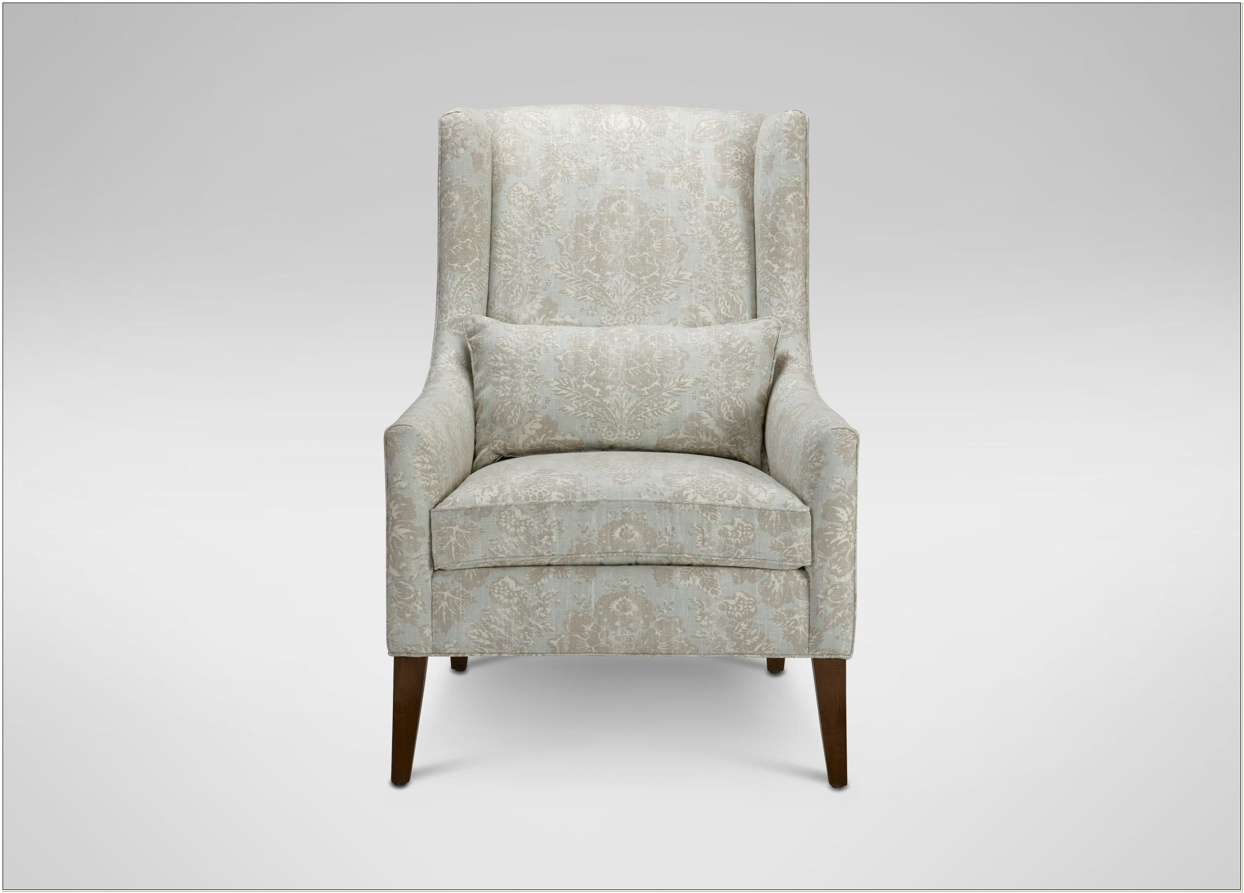 Ethan Allen Wingback Chair And Ottoman