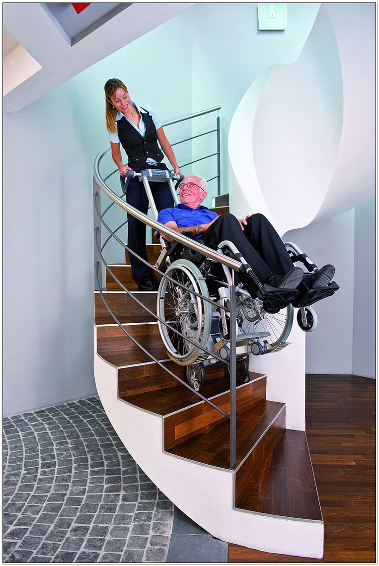 Evacuation Chairs For Spiral Stairs