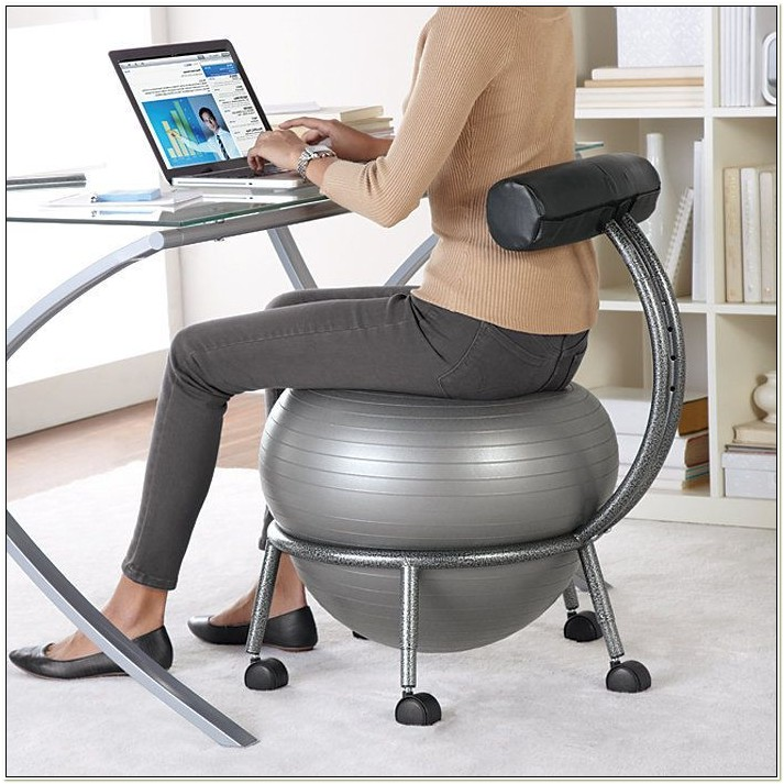 Exercise Ball Chair For The Office