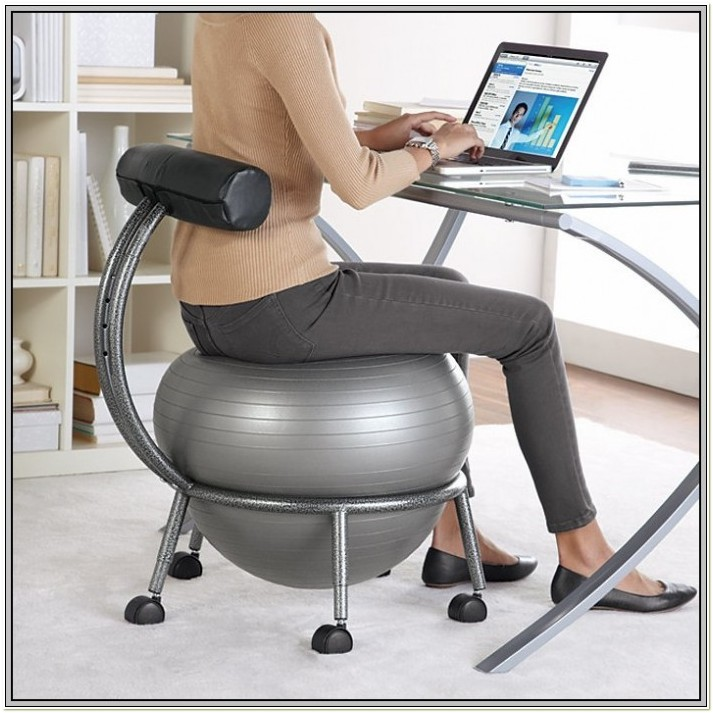 Exercise Ball Chair Office Depot