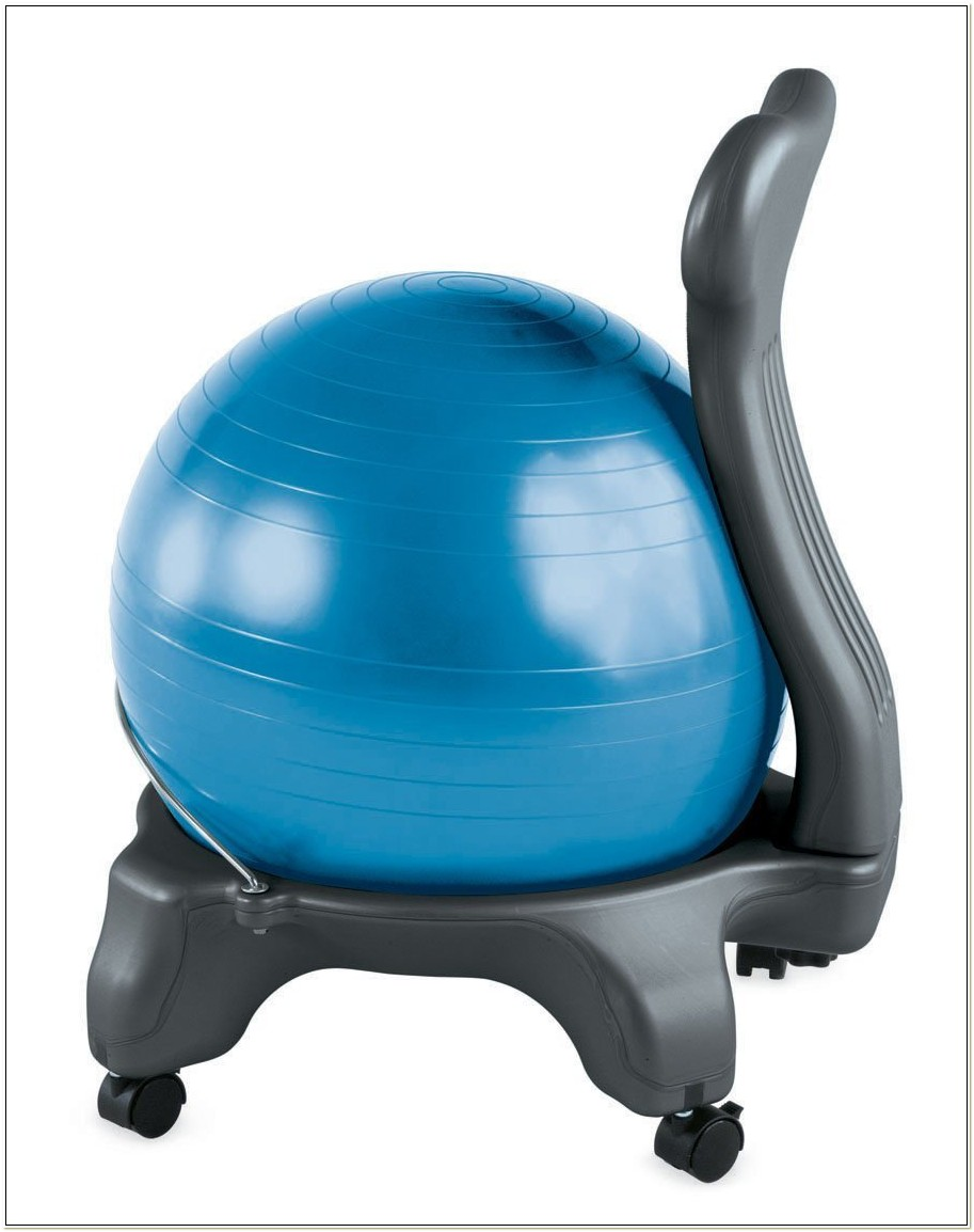 Exercise Balls As Chairs Ergonomics