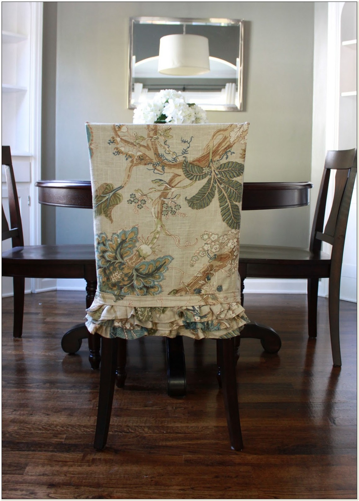 Fabric Slipcovers For Dining Chairs