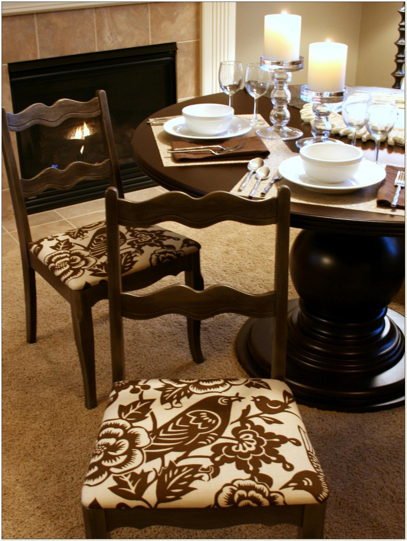 Fabric To Recover Dining Room Chairs