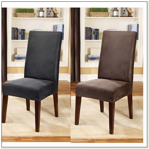 Faux Leather Dining Chair Covers