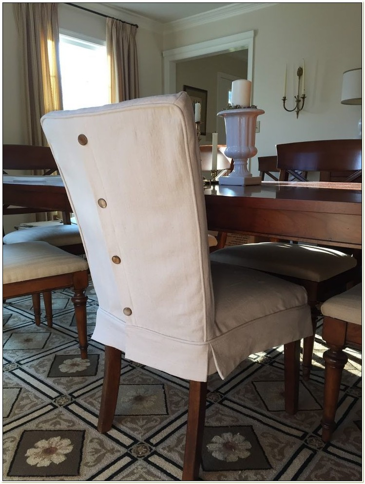 Faux Leather Dining Room Chair Covers