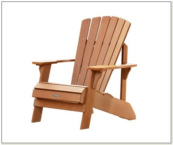 Faux Wood Adirondack Chairs