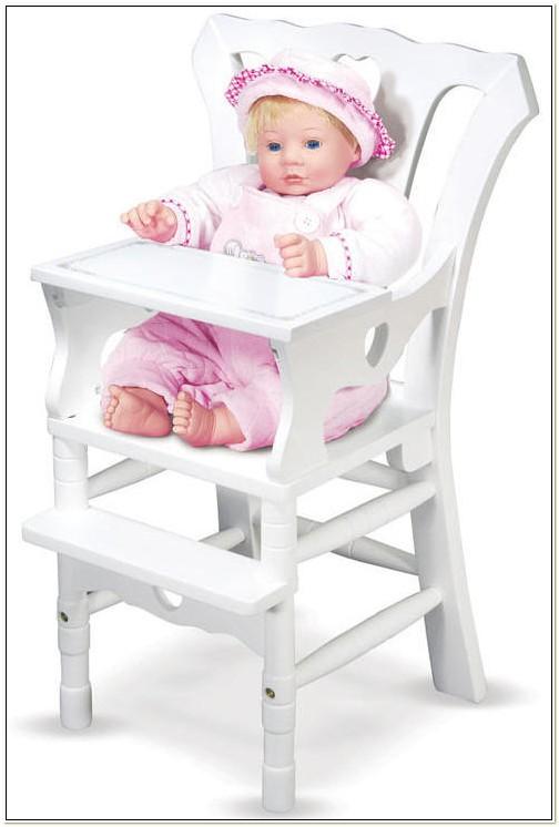 Feeding Chair For Baby Doll