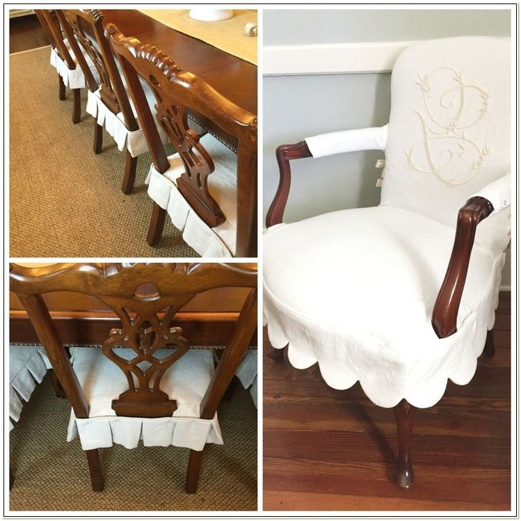 Fitted Dining Chair Slipcovers