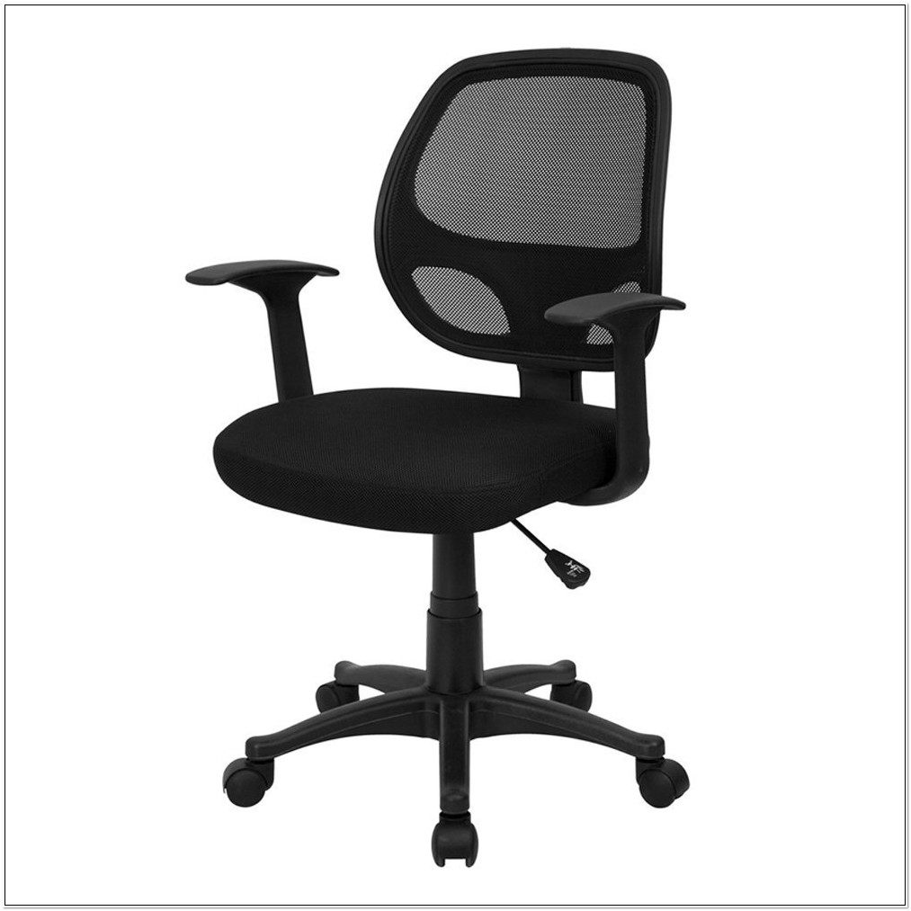 Flash Furniture Mesh Back Computer Chair Black