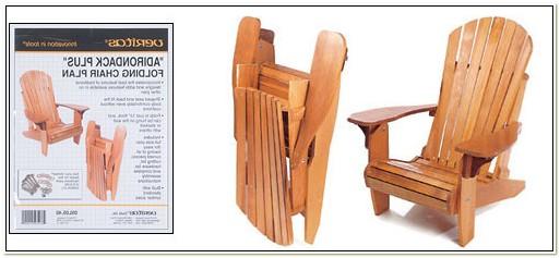 Folding Adirondack Chair Plans Lee Valley
