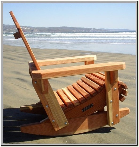 Folding Adirondack Rocking Chair Plans
