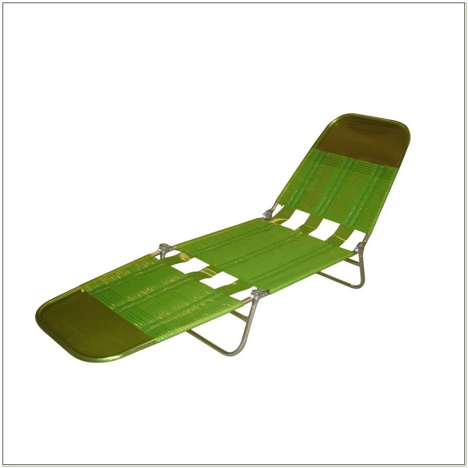 Folding Banana Lounge Chair