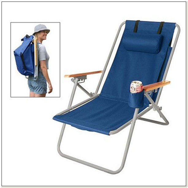 Folding Beach Chairs With Backpack Straps