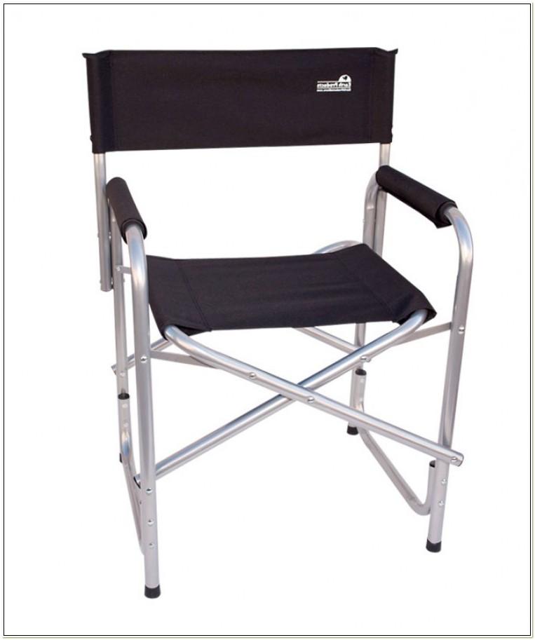 Folding Camping Directors Chair Aluminium