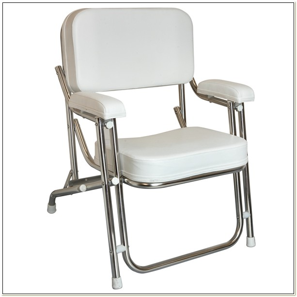Folding Captains Chair For Boat