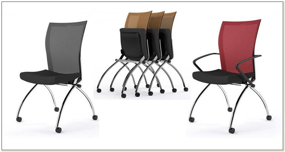 Folding Conference Room Chairs With Wheels