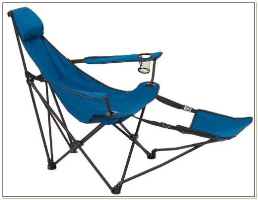 Folding Lawn Chair With Footrest
