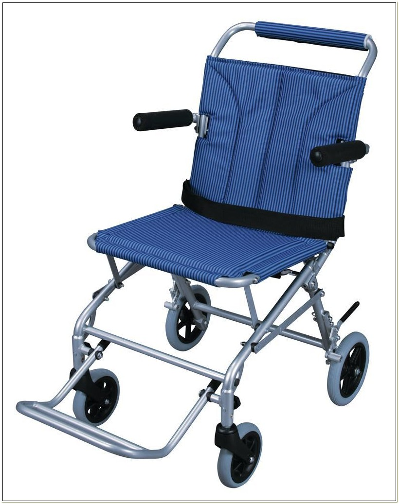 Folding Lightweight Travel Transport Chair