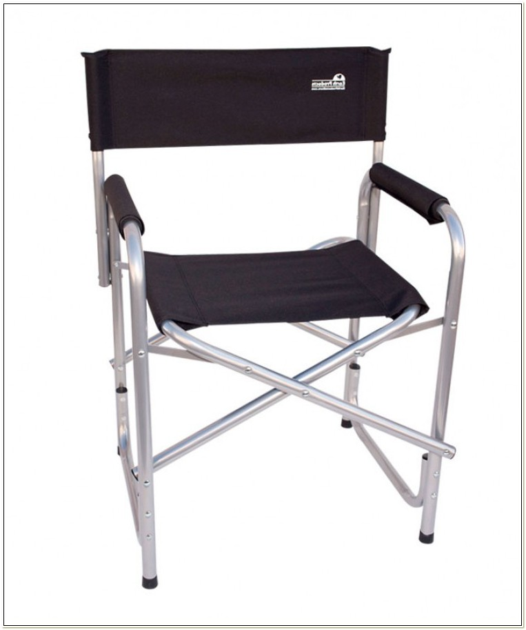 Folding Metal Directors Chairs