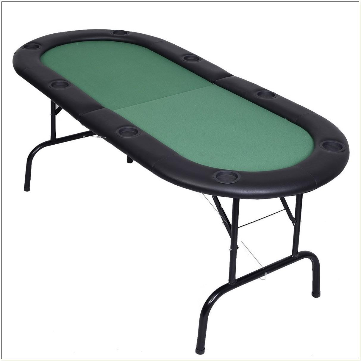 Folding Poker Table Set