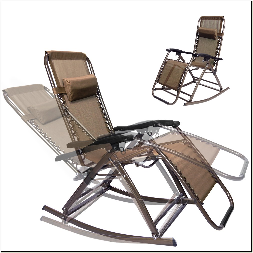 Folding Recliner Lawn Chair