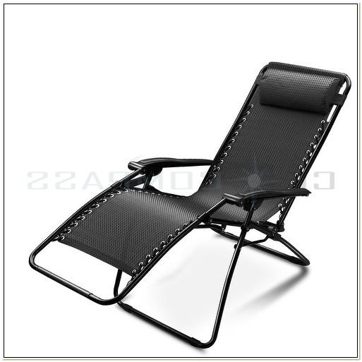 Folding Reclining Beach Patio Chair