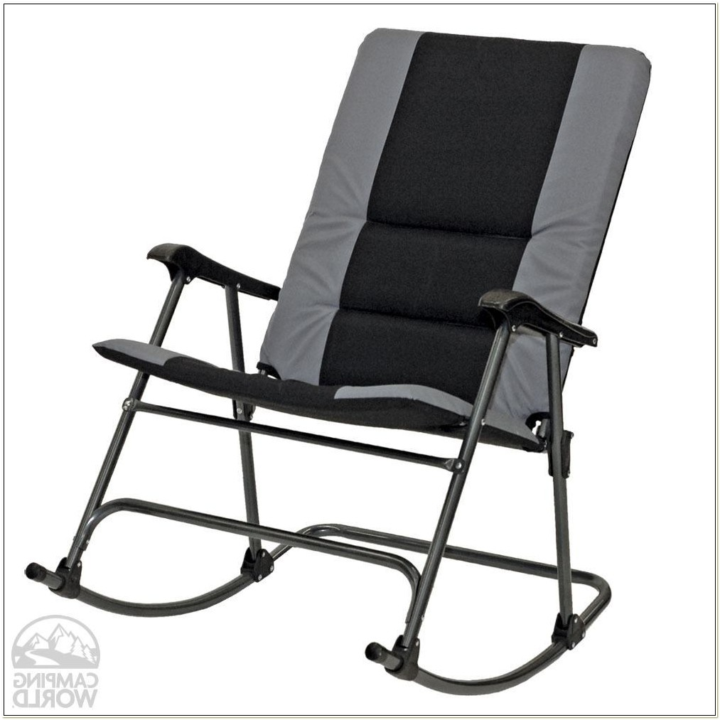 Folding Rocking Camp Chair