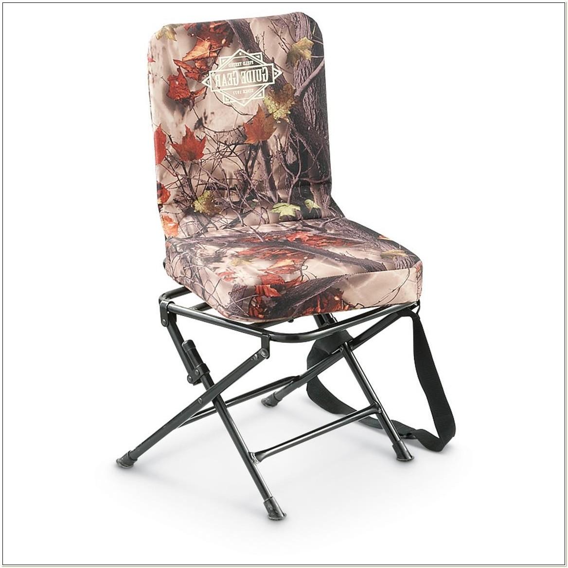 Folding Swivel Hunting Chair