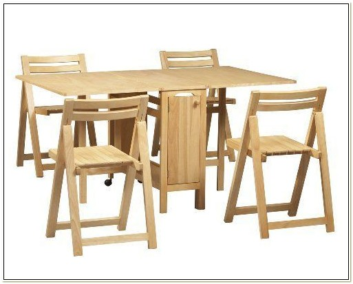 Folding Table With Chairs Inside