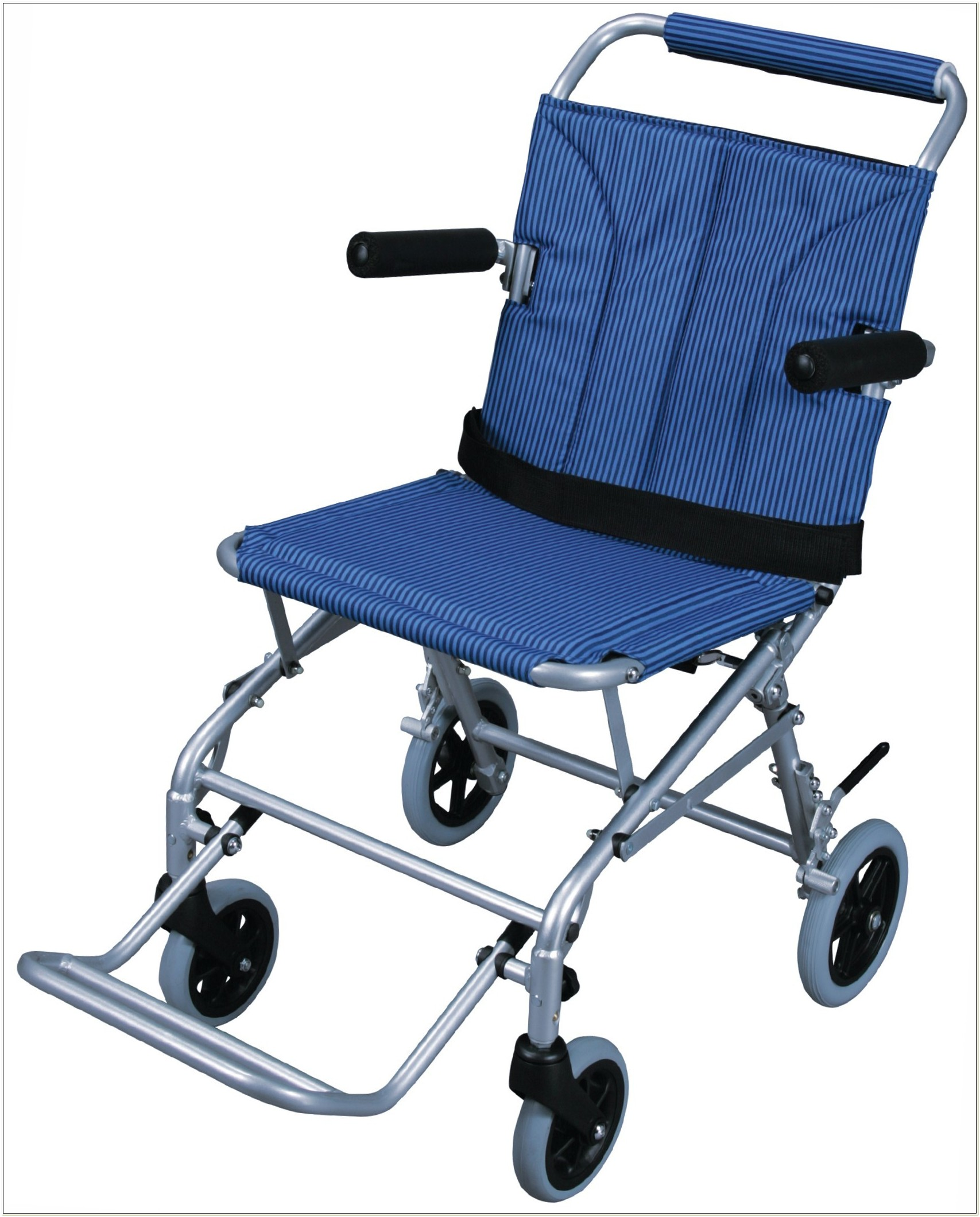 Folding Wheelchair Lightweight Transport Chair