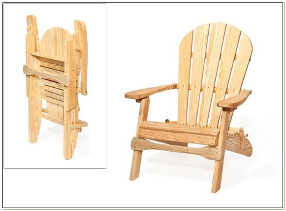 Folding Wood Patio Chair Plans