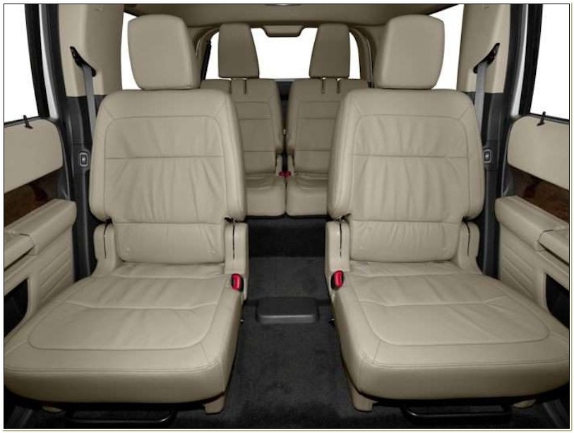 Ford Flex With Captains Chairs