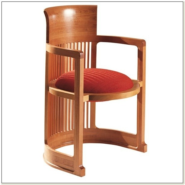 Frank Lloyd Wright Barrel Chair Cassina