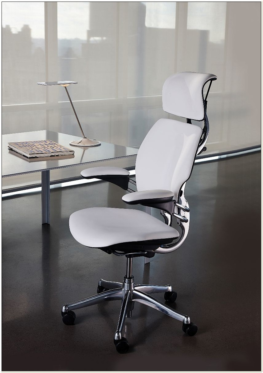 Freedom Task Chair With Headrest Wave Black