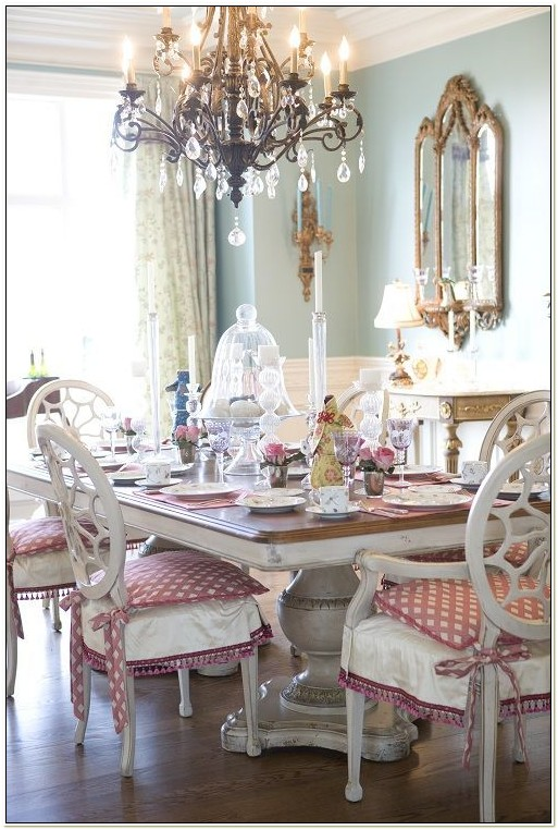 French Country Dining Room Chair Cushions