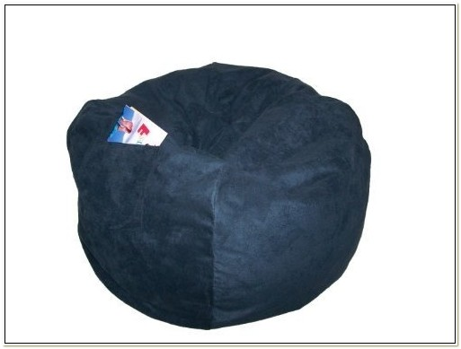 Fun Furnishings Large Microsuede Bean Bag Chair