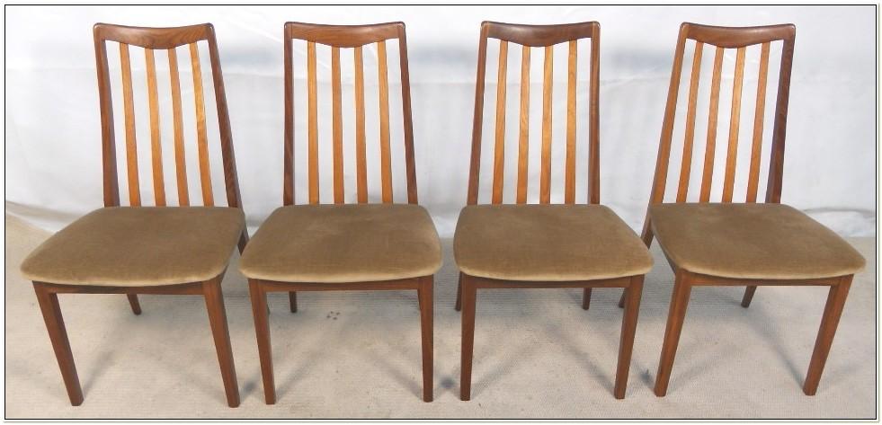 G Plan Dining Chairs Teak