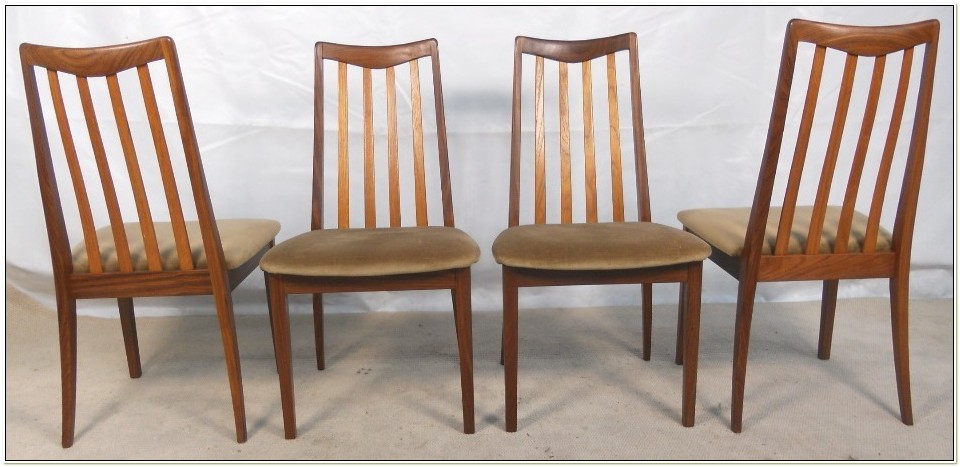 G Plan Teak Dining Room Chairs