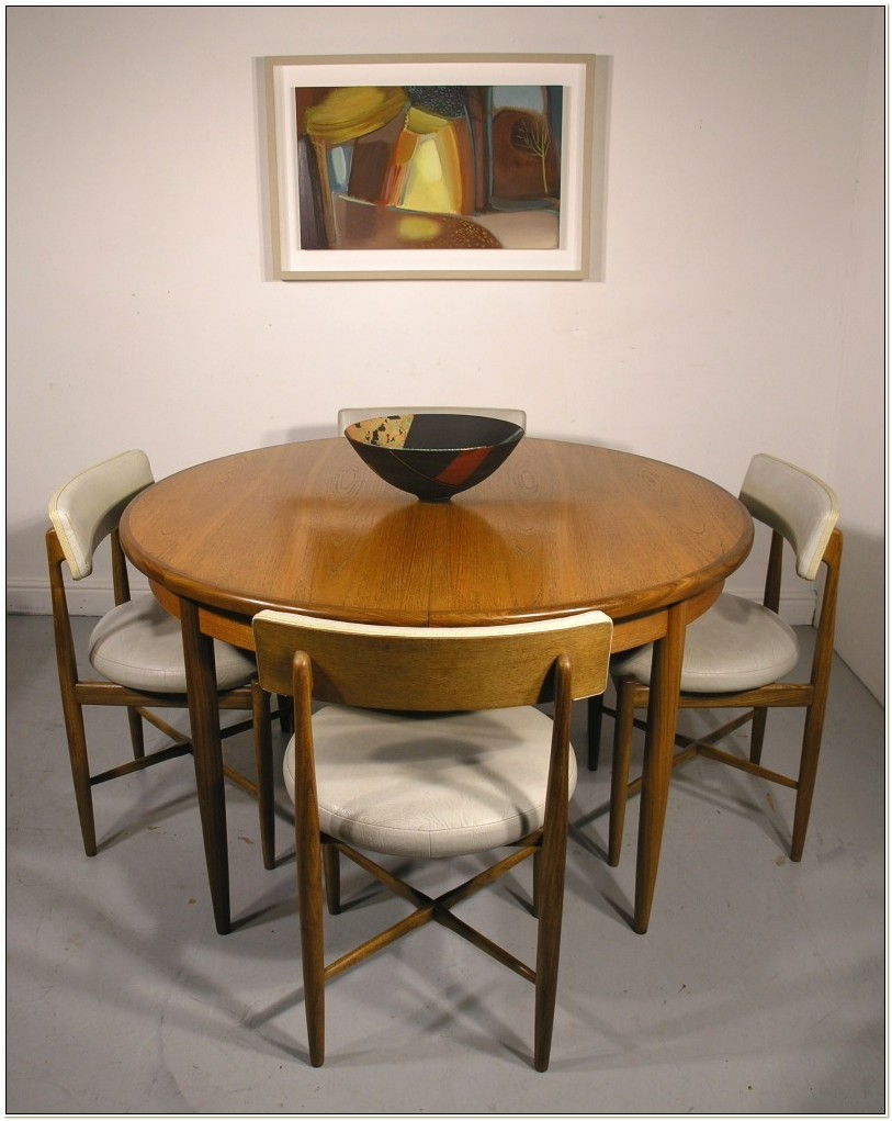 G Plan Teak Dining Table And Chairs
