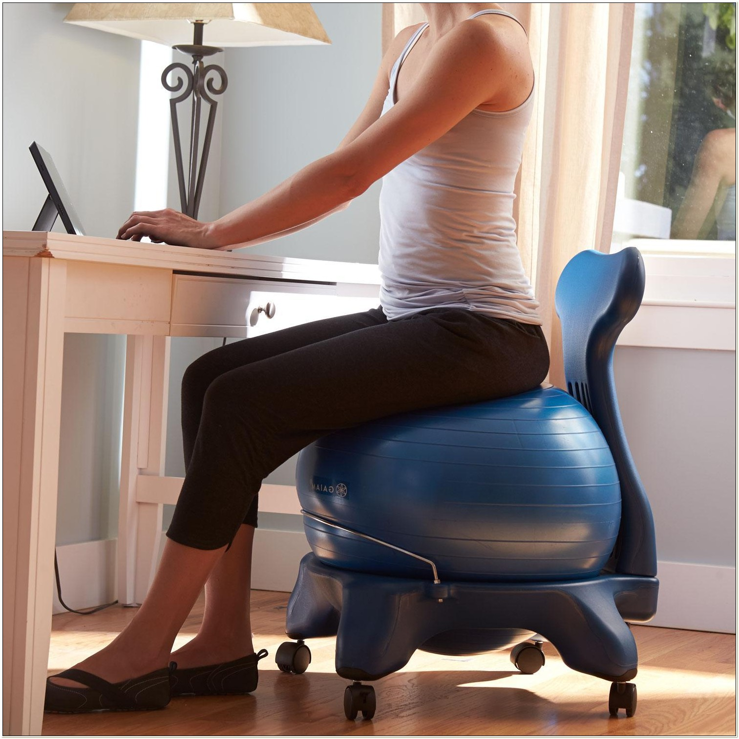 Gaiam Balance Ball Chair Benefits