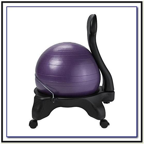 Gaiam Balance Ball Chair Kohls