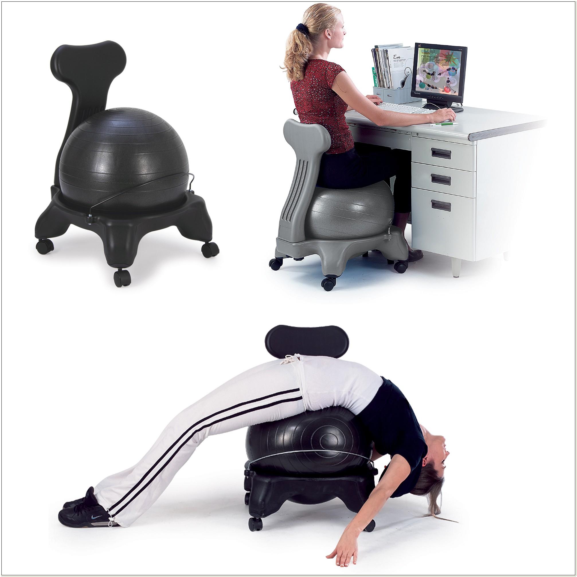 Gaiam Balance Ball Chair Walmart