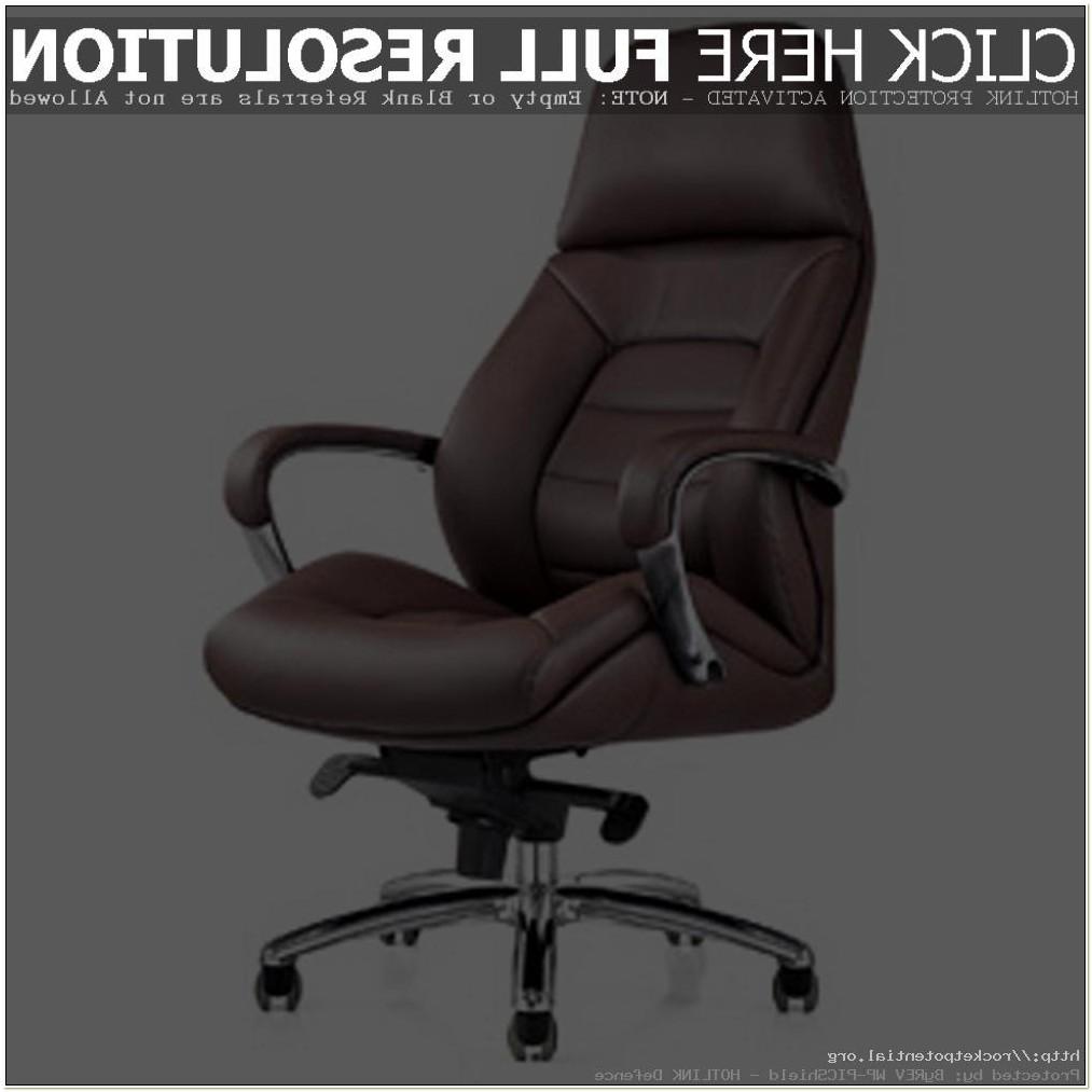 Genuine Leather Desk Chair