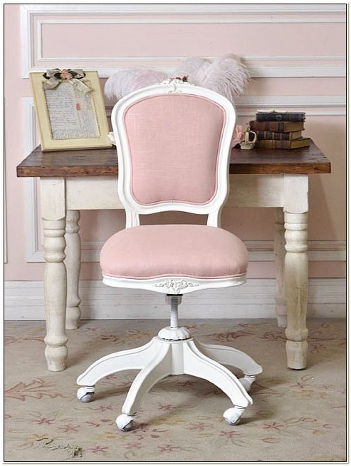 Girls Pink Desk Chair