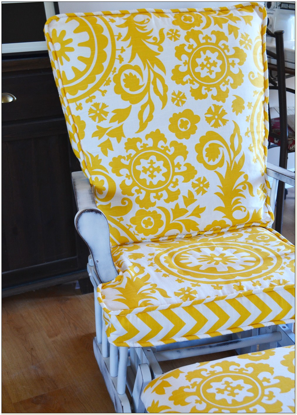 Glider Rocking Chair Cushion Pattern