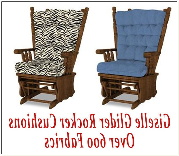 Glider Rocking Chair Cushion Sets