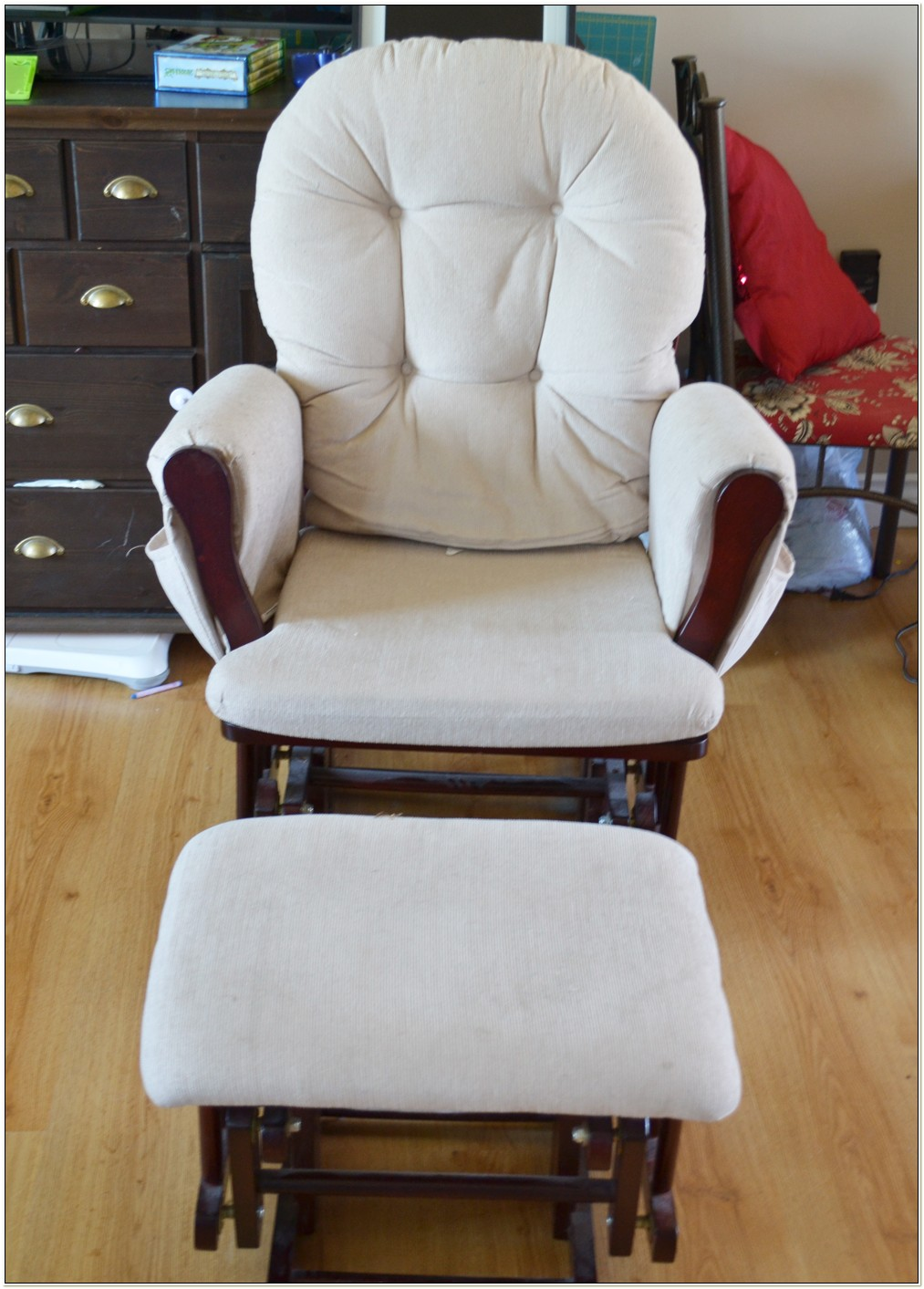 Glider Rocking Chair Cushion Slipcover