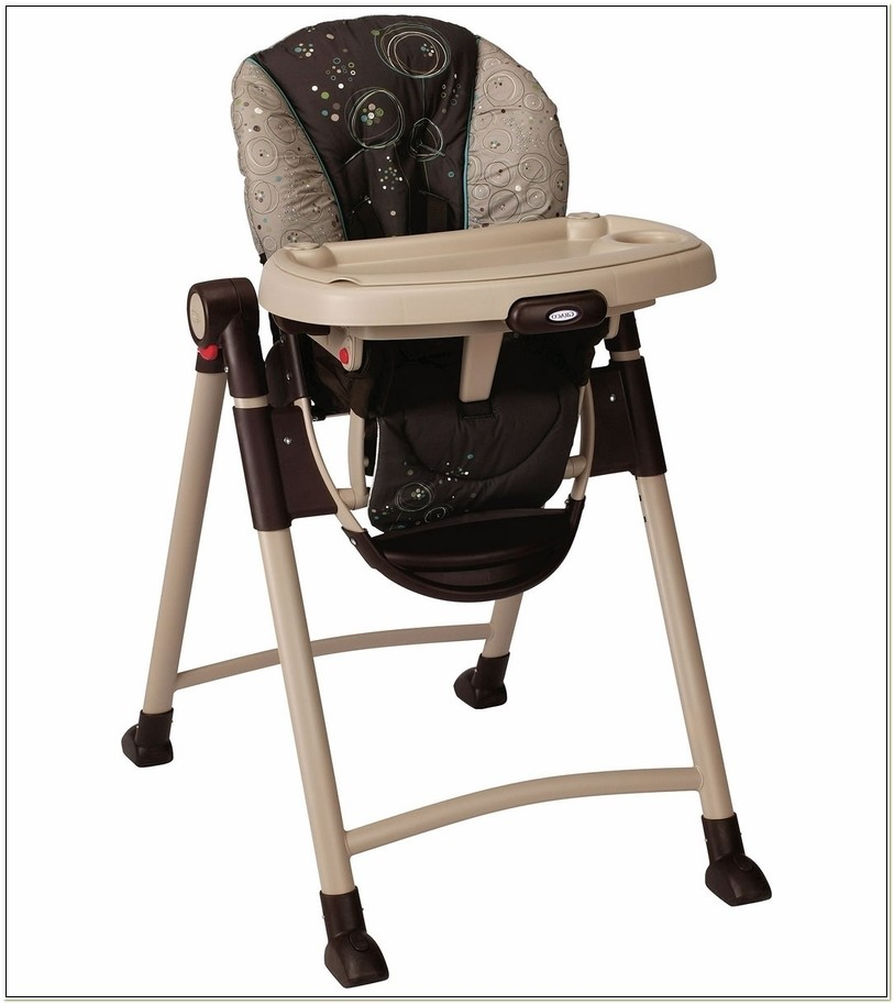 Graco Contempo Folding High Chair Scribbles