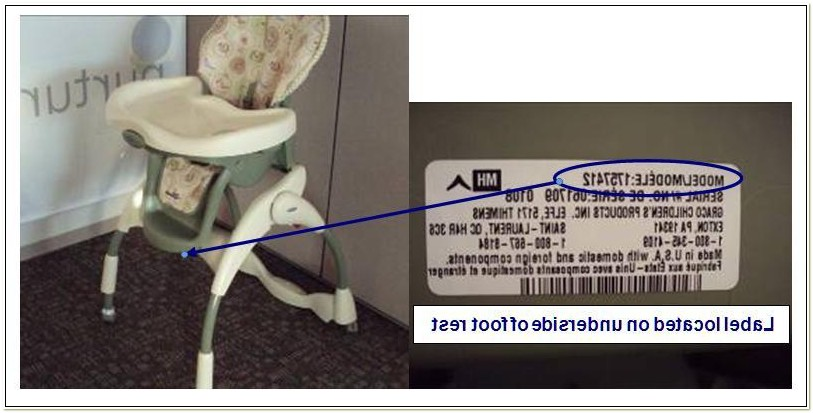 Graco High Chair Recall Pa 24833